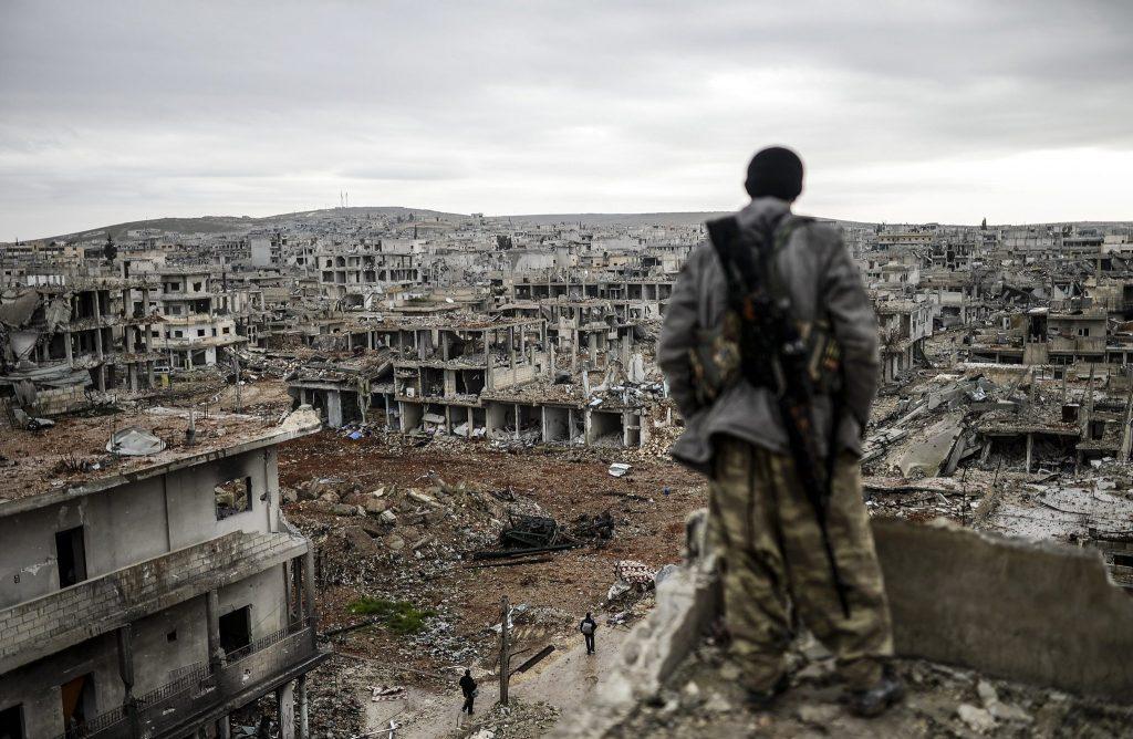 США начали вывод войск из Сирии