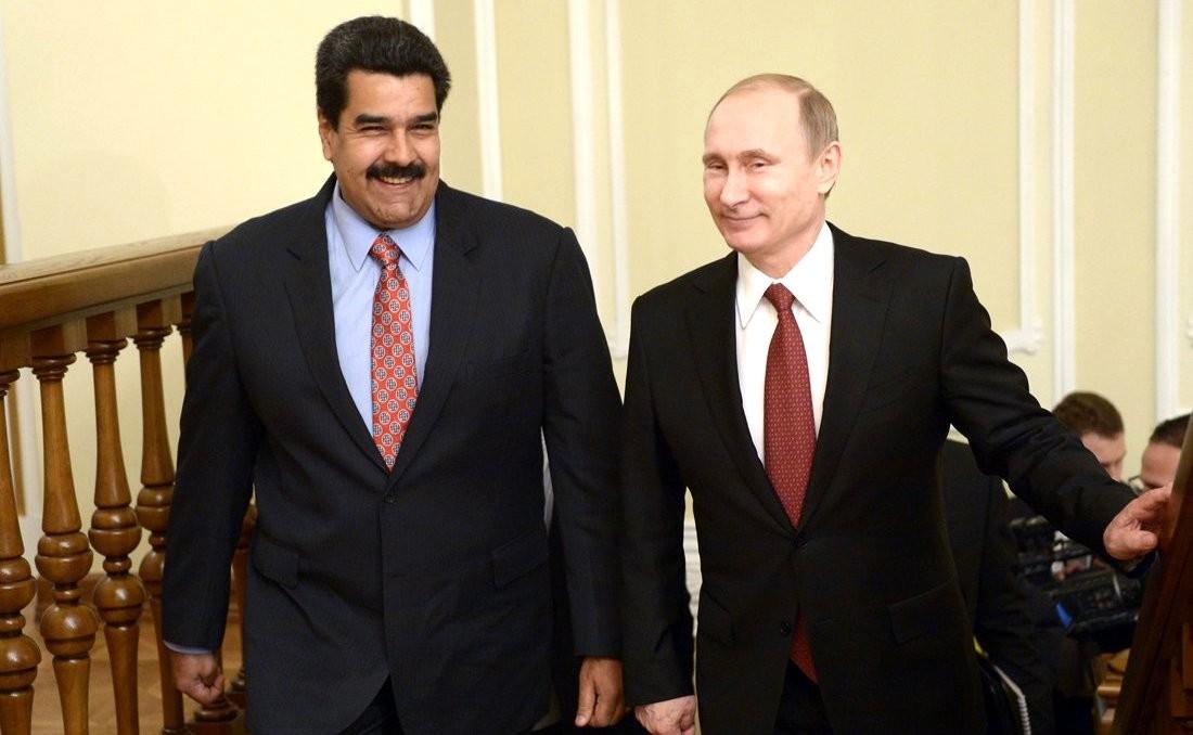 Путин публично поддержал Мадуро