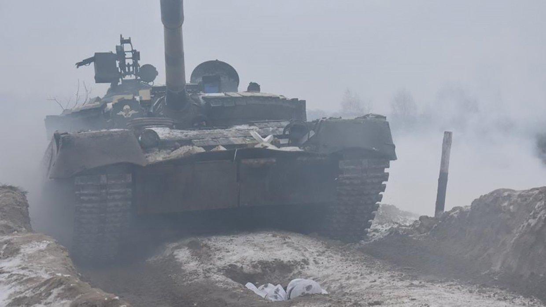 В ЛНР появилась британская военная техника