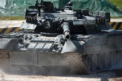 Российский танк Т-90С назвали лучшим в мире