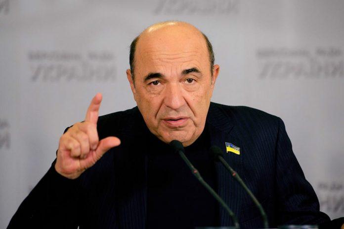 Депутат Рабинович назвал украинские власти «дебилами»