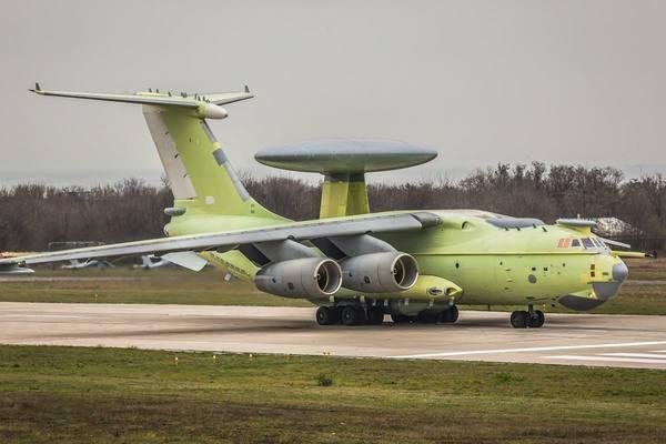 В России испытали новейший самолет дозора и наведения