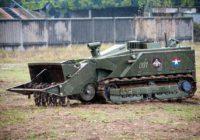 В инженерные войска поступят 12 роботов-саперов «Уран-6»