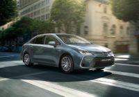 Toyota начала производство Corolla нового поколения