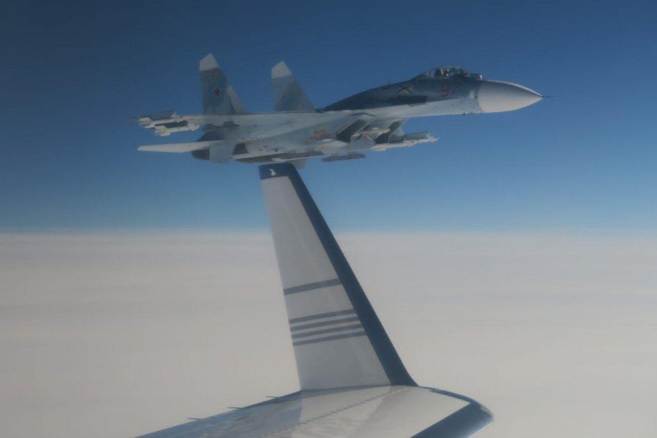 В Швеции заявили о «неприемлемом» маневре российского истребителя