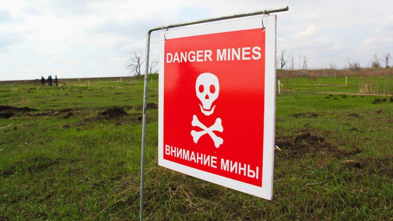 ООН назвала Украину одной из самых заминированных стран мира