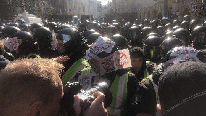 Националисты пригрозили Киеву стотысячной «армией» радикалов