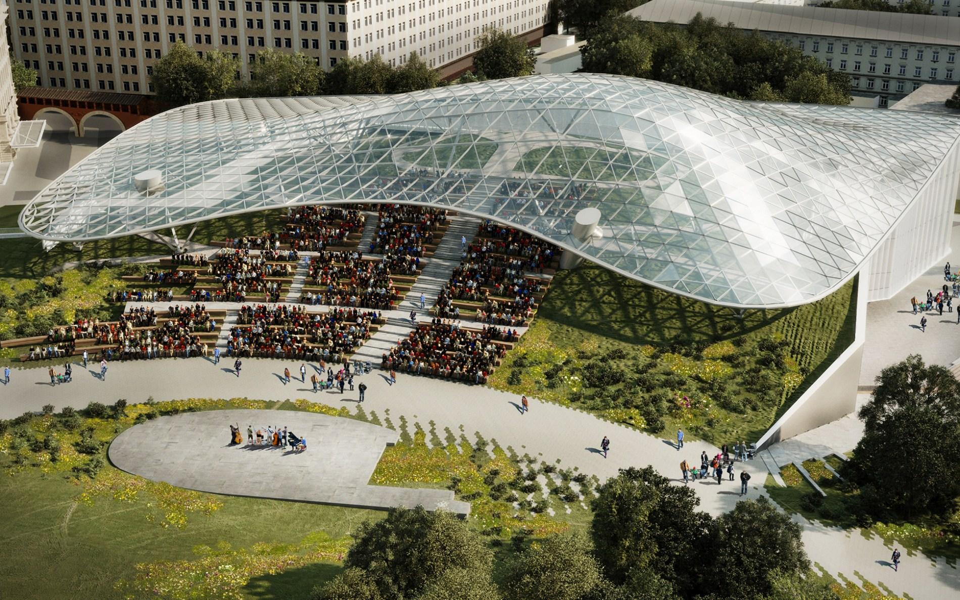 Концертный зал «Зарядье» проведет экскурсии для посетителей