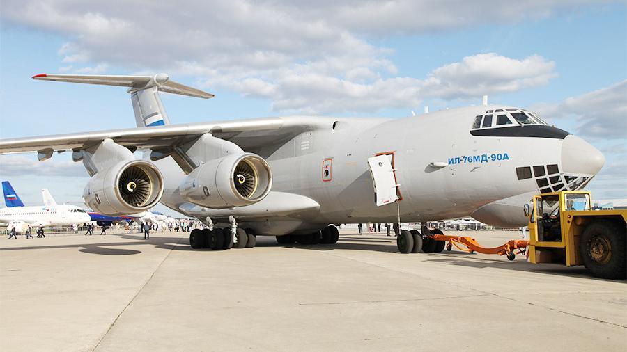 «Ильюшин» передаст военным нового самолета Ил-76МД-90А