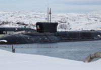 ВМФ увеличит группировку подлодок класса «Борей»