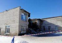 В Чувашии обрушилось здание школы