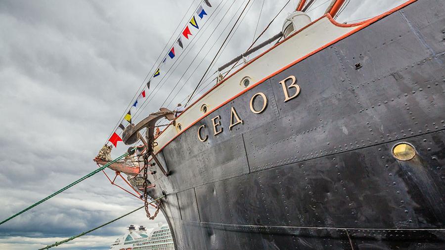Российский парусник «Седов» не пустили в воды Эстонии