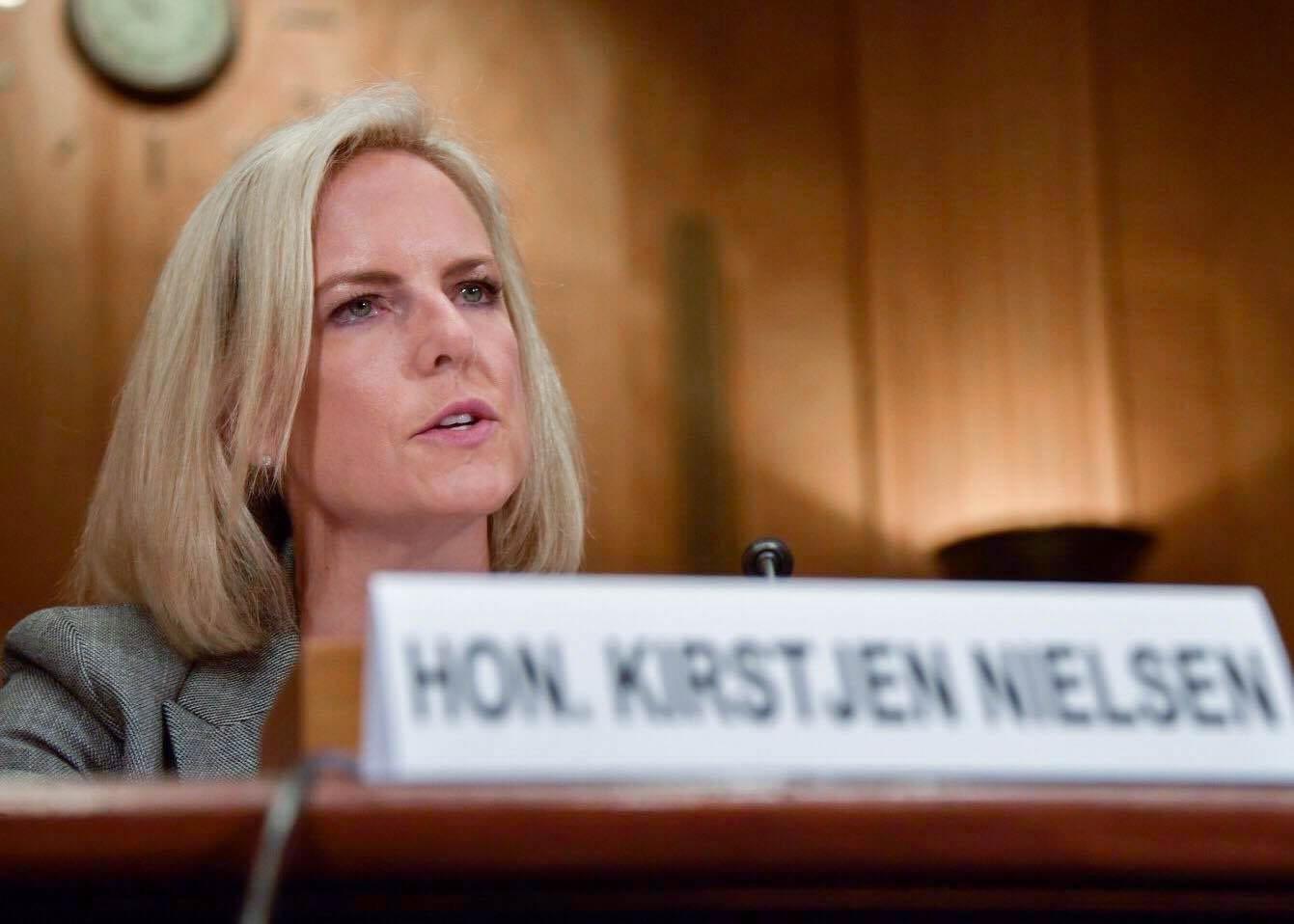 Министр внутренней безопасности США Нильсен подала в отставку