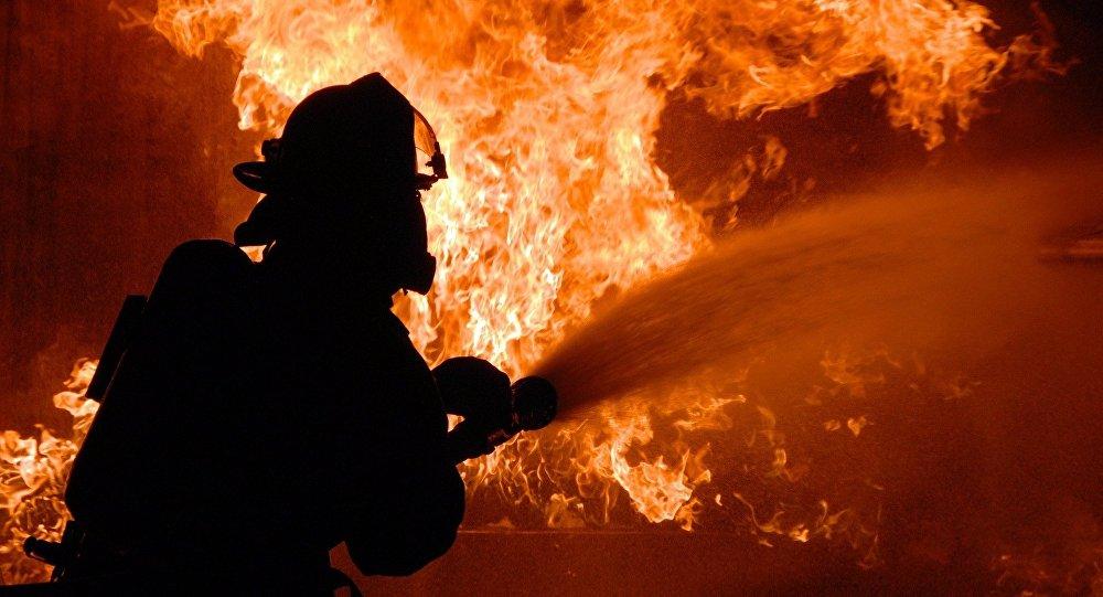 На пепелище в Петербурге нашли труп со спущенными штанами