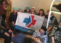 Кемеровские санитарки протестуют против перевода в уборщицы