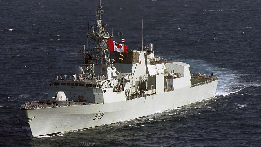 Два военных корабля США вошли в порт Одессы