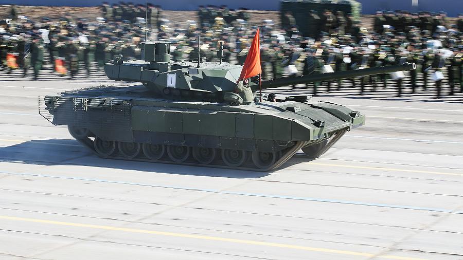 Раскрыты изменения в новейших танках Т-14 «Армата»