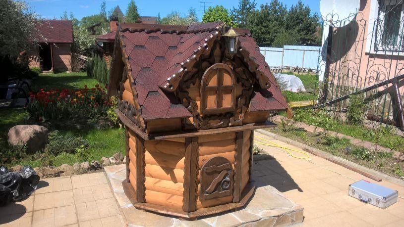 Зачем нужен домик для колодца?