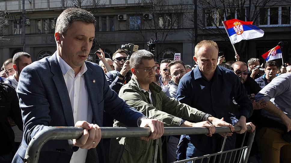 В Сербии вновь митингуют против пророссийских властей