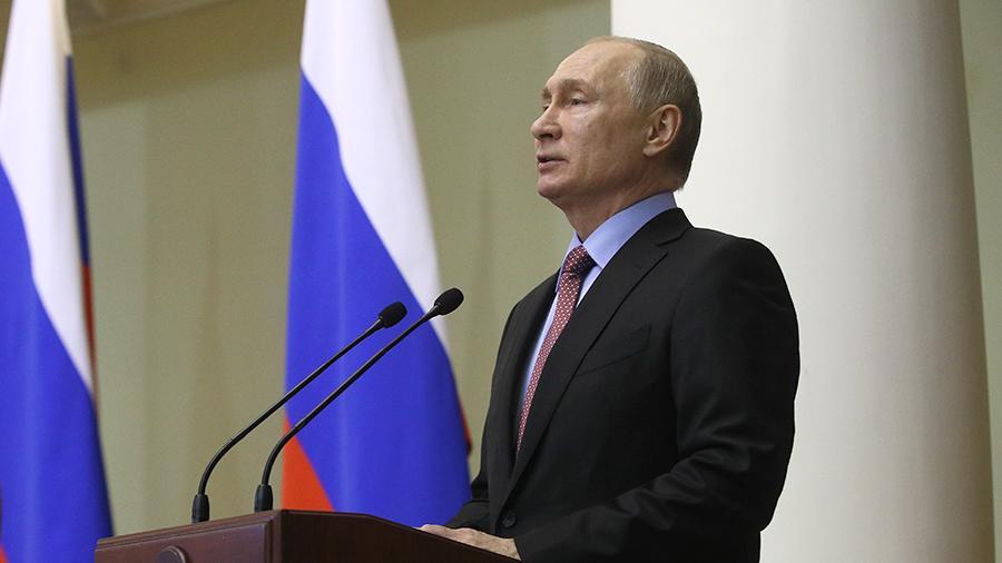 Путин заявил о готовности России наладить отношения с Украиной