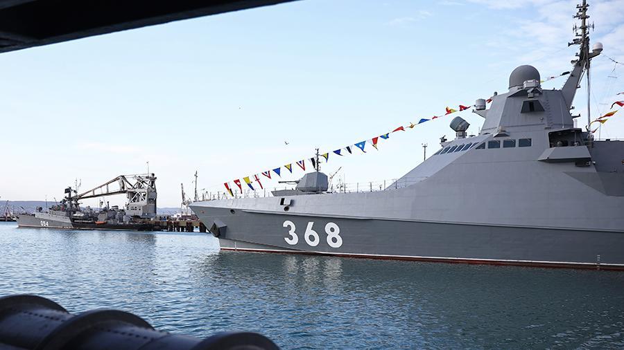 ВМФ тестирует систему радиоэлектронной защиты в Черном море