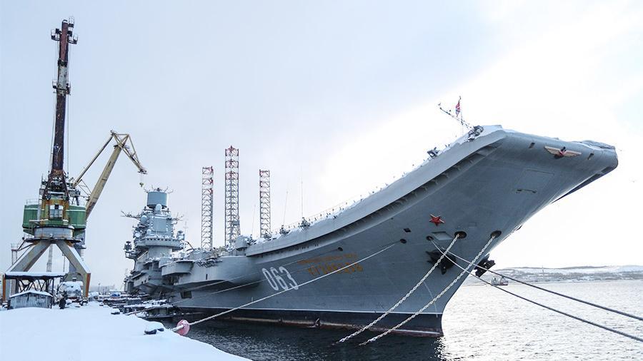 «Адмирал Кузнецов» может не вернуться в строй