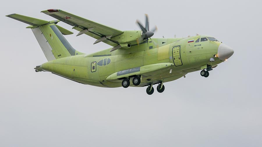 Новейший Ил-112В впервые покажут на авиасалоне МАКС-2019