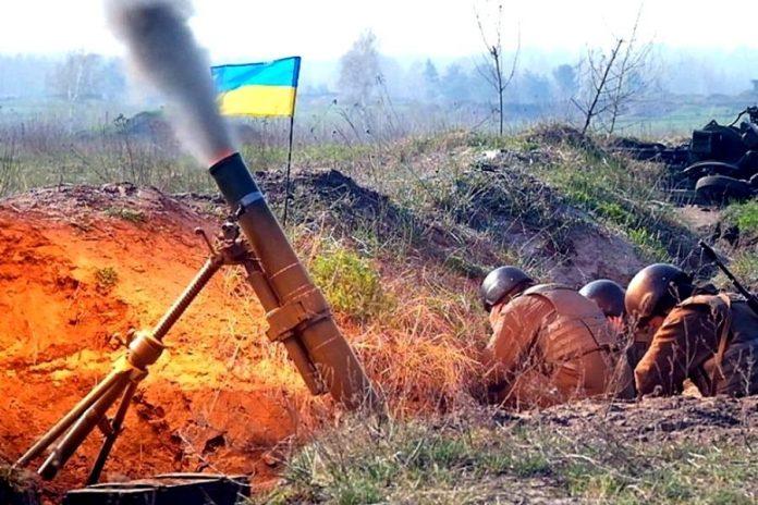 Украинские войска обстреляли северный пригород Донецка