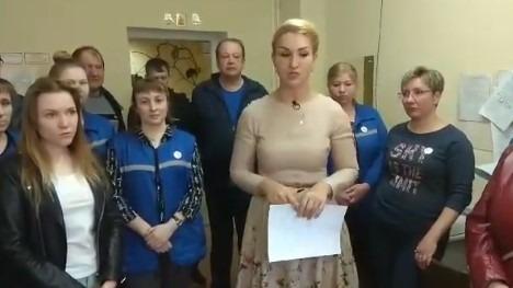 В Новогородской области бастует районная больница