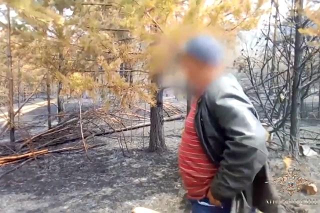 В Забайкалье пастух, разогревая еду, сжёг 600 га леса