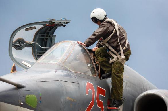 Российские истребители за неделю 9 раз вылетали на перехват иностранных самолетов