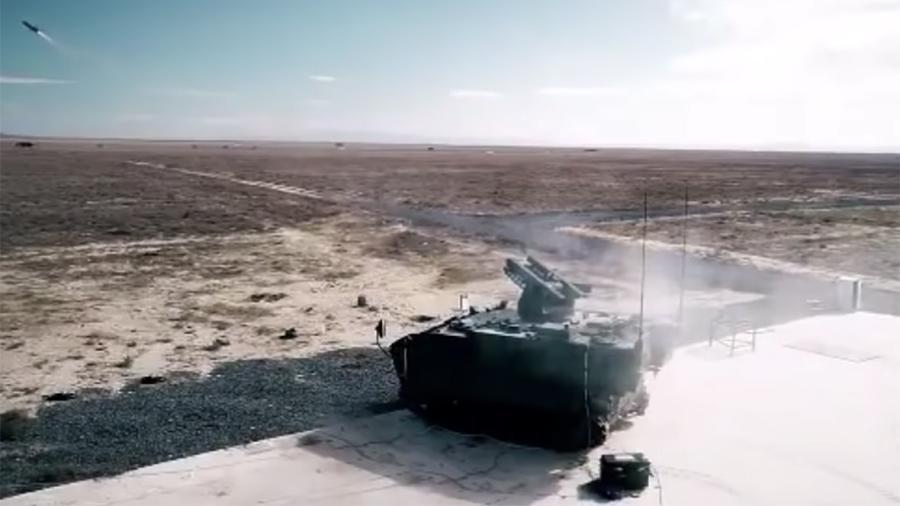 Противотанковый комплекс с российскими ракетами «Корнет» для ВС Турции прошел испытания