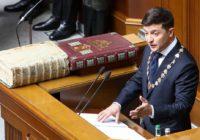 Новый президент Украины распустил Верховную Раду