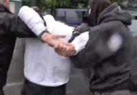 Опубликовано видео задержания финансиста террористов