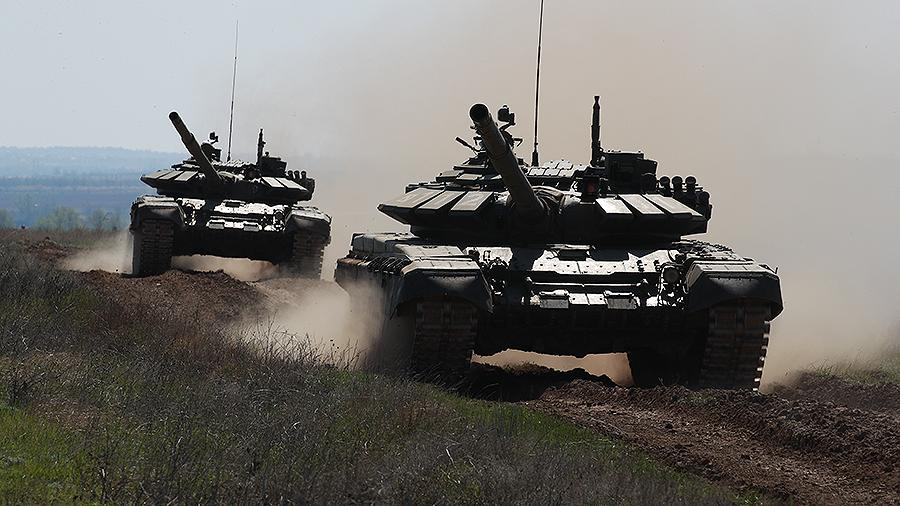 Танк Т-72 выдержал атаку ПТУР в Сирии