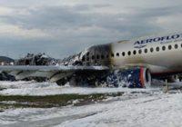 Ошибка пилотов названа приоритетной версией катастрофы SSJ 100