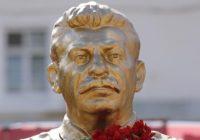 Трехметровый памятник Сталину установили в Новосибирске