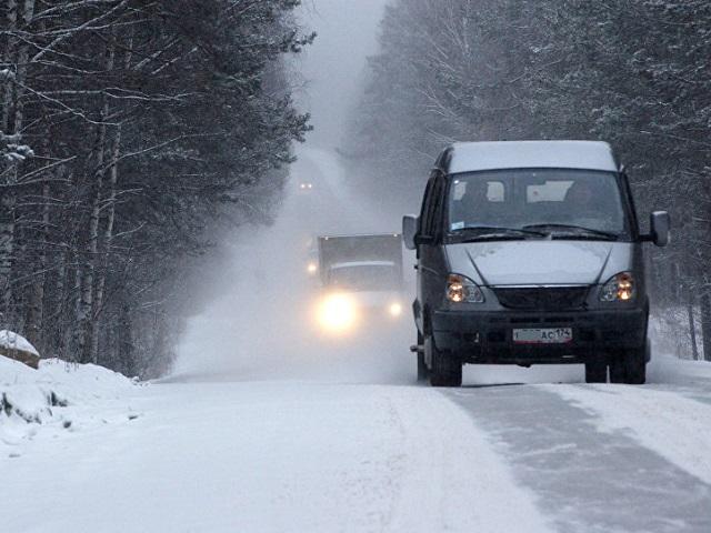 В России предложили ограничить скорость авто в зимний период