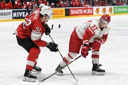 Российские хоккеисты одержали шестую победу подряд на чемпионате мира