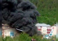 Момент жёсткой посадки АН-24 в Бурятии попал на видео