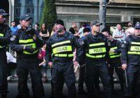 В Тбилиси проходит очередной антироссийский митинг