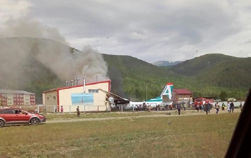 В Бурятии при аварийной посадке АН-24 погибли пилоты