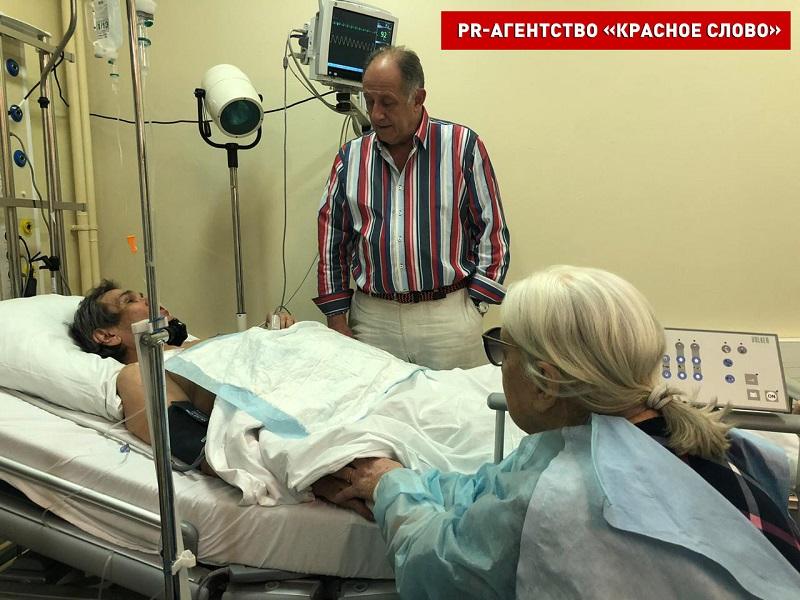 Выпил «Крот»: Бари Алибасов находится в тяжелом состоянии