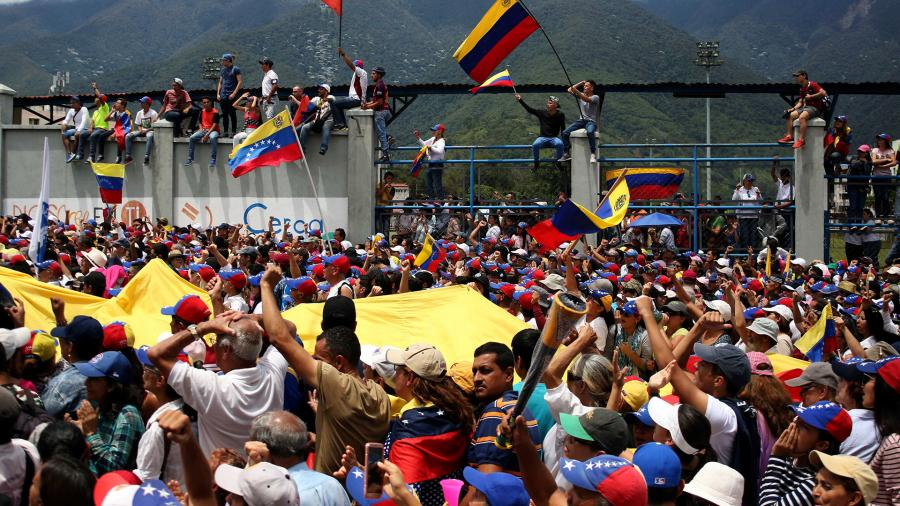 В СВР рассказали о гибридной войне в Венесуэле