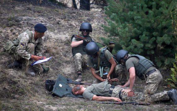 украина учения великобритания