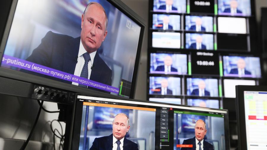 «Левада-центр»: более трети россиян не хотят видеть Путина президентом после 2024 года
