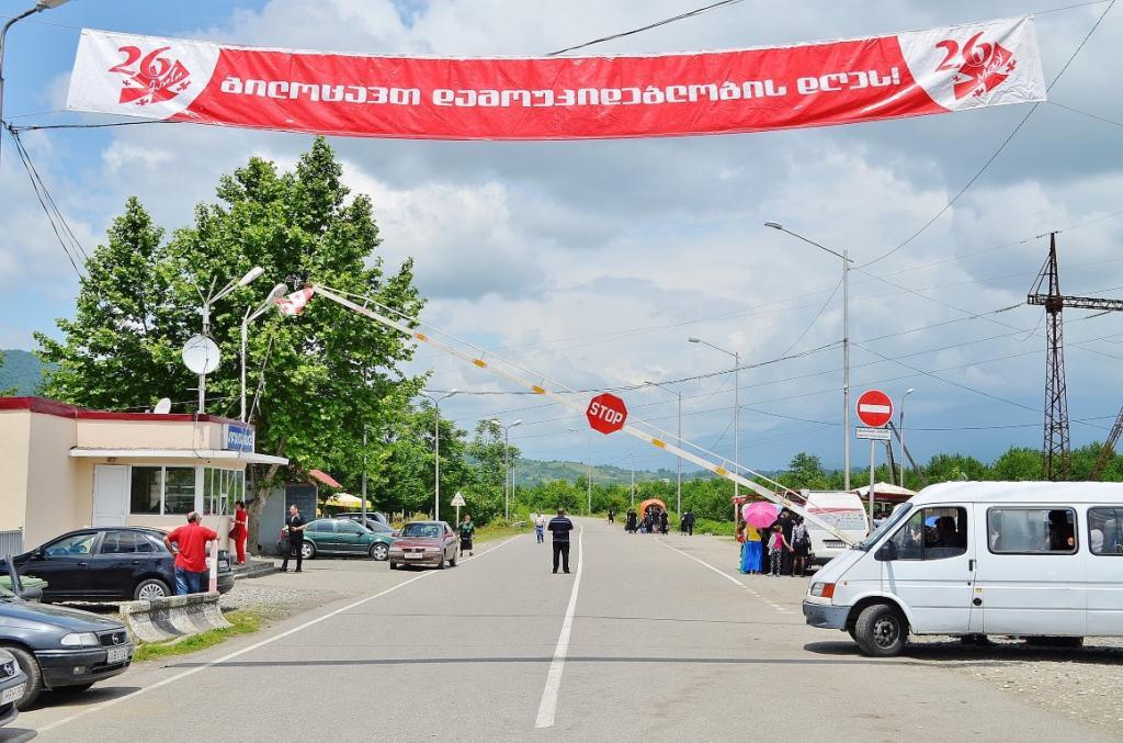 Абхазия ограничила пересечение границы с Грузией