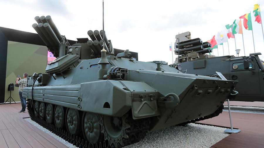 Минобороны России примет на вооружение новый ЗРК «Сосна»