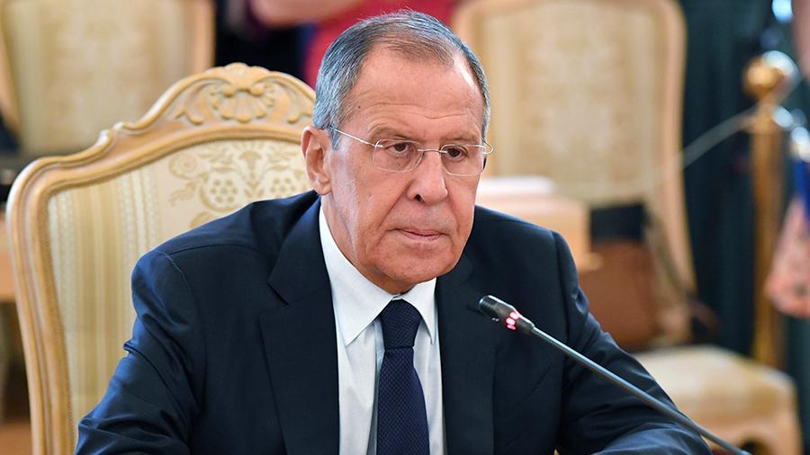 Лавров обвинил Запад в игнорировании русофобии в Грузии