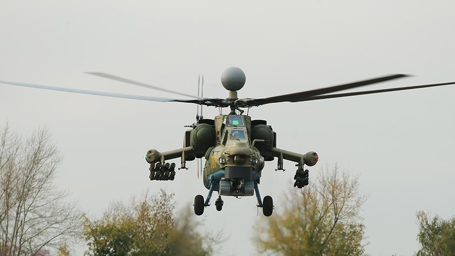 «Ночной суперохотник» Ми-28НМ успешно испытан в Сирии
